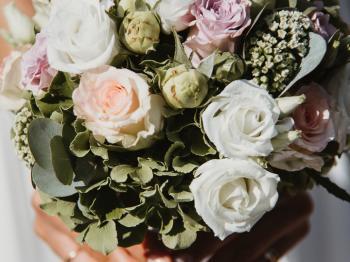 Blumenstrauß - Hochzeitsfotograf Köln Mattin Ott